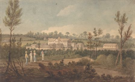 Female penitentiary or factory, Parramata, 1826 - Augustus Earle
