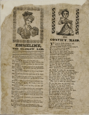 Convict Maid - A representation of convict women prior to transportation - Australian National Maritime Museum Collection