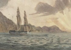 The Ship Morley - detail - State LIbrary of NSW Collection
