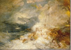 THe Wreck of the Amphitrite, William Turner - Tate Gallery Collection